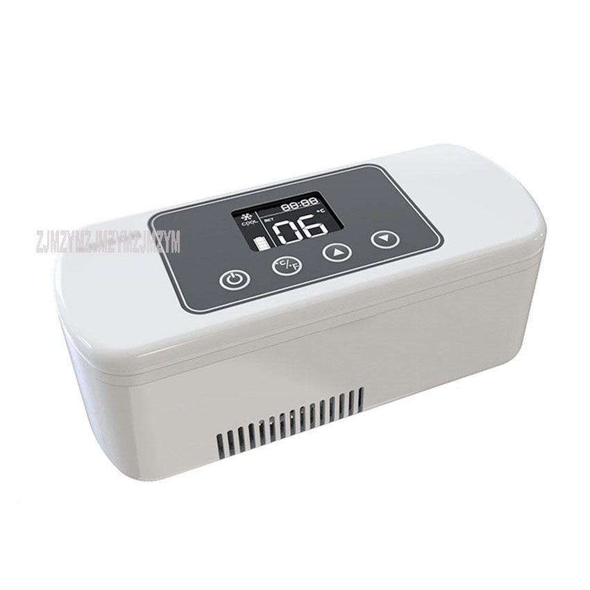 BCZ-300B NEW Mini Insulin Cooler Box Small Refrigerator Portable Growth Hormone Heat-Senstivive Medicine Cooling Box 8/20 Hours