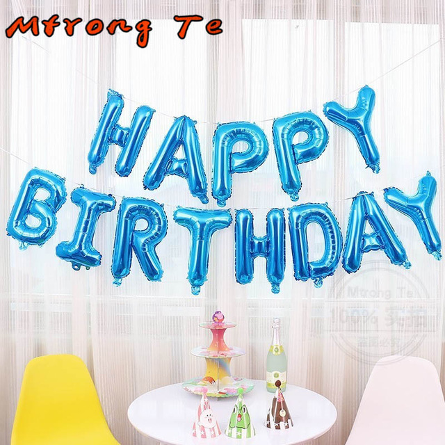Kids minnie//mickey thème joyeux anniversaire lettre fête d/'anniversaire drapeau bannière déco