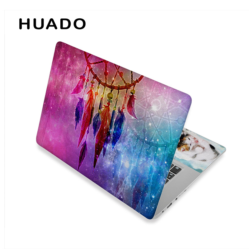 "Ноутбук кожи для 17 дюймов компьютер наклейки 1"" 14"" виниловые наклейки для 1"" 15,6"" Ноутбук кожи наклейки для mi pro 13,3/acer/hp/dell/mac - Цвет: laptop skin 6"