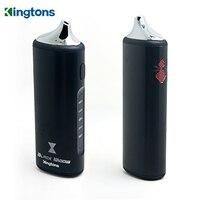 Электронные сигареты kit Kingtons Черная Вдова электронной сигареты 2200 мАч Батарея VAPE mod травяные 0.6ohm распылитель сухой травы испаритель