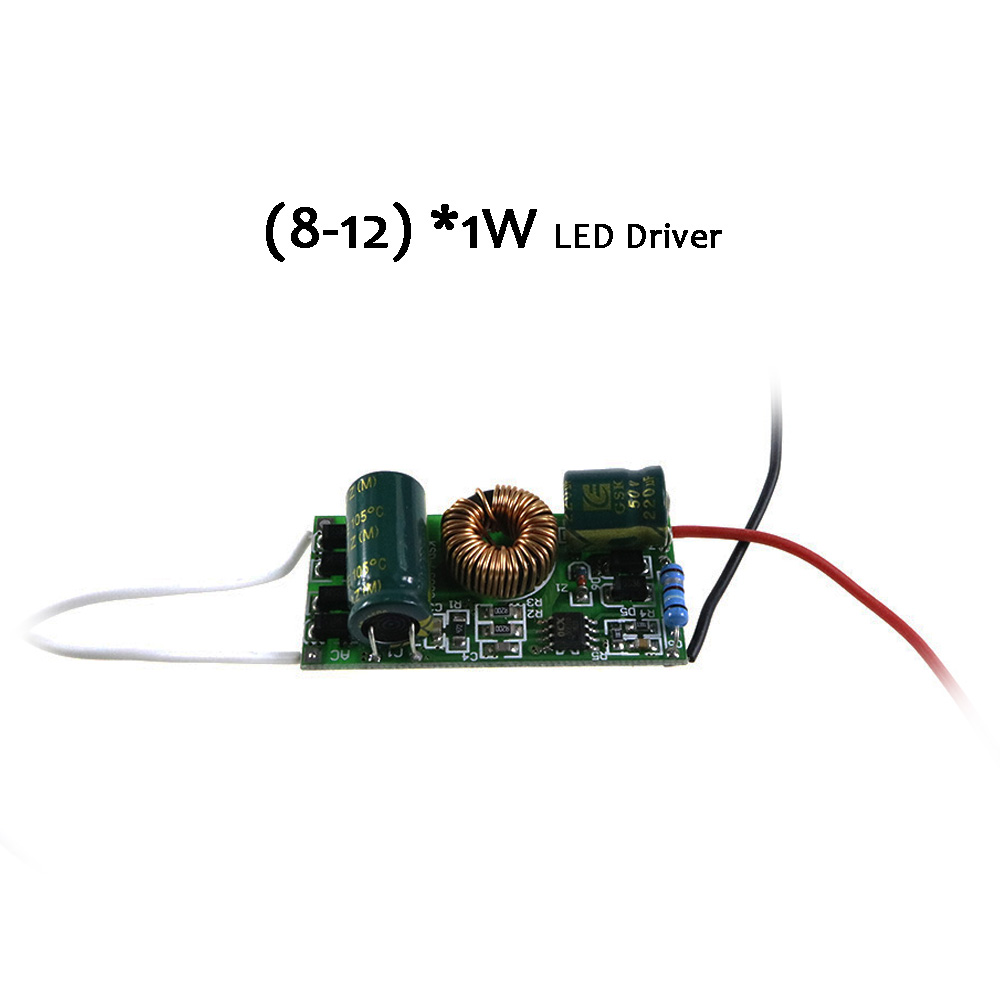 Led Driver 12v 300ma 8 121w Built In Bare Board Constant Current 1w Power Supply Lighting Transformer For Lamps L Transformers From Lights