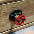 1 UNID Nueva Marca Vendimia Manija de los Muebles Muebles Del Guardarropa Del Gabinete Perillas de Puerta Del Cajón Tire Manillas Z47