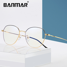 BANMAR Blue Light Blocking Glasses Unisex Round Computer Reading Readers Anti Glare Eyeglasses Ray A2105