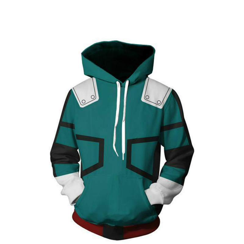 New My Hero Academia Sweatshirts 3D Cosplay Costume Men Women Casual Hoodies Plus Size S-5XL Uniform College Clothing Outfit