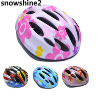 Snowshine2 3001 10 Vent Child Sports Mountain Road Bicycle Bike Cycling Safety Helmet Skating Cap Free