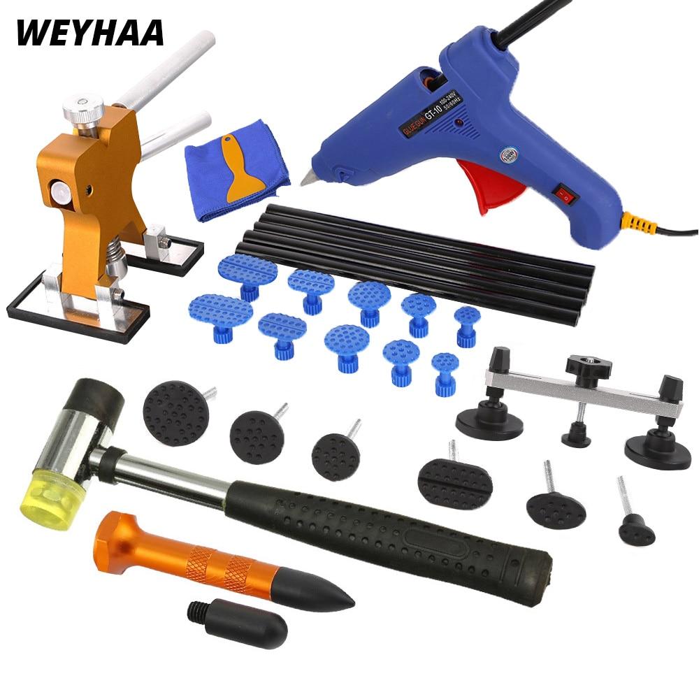 Ferramentas de PDR Paintless dent repair tools torneiras pistola de cola extrator dent removal kit auto corpo
