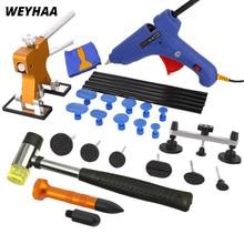 PDR Ferramentas Paintless dent repair tools glue gun puller taps dent removal auto body kit