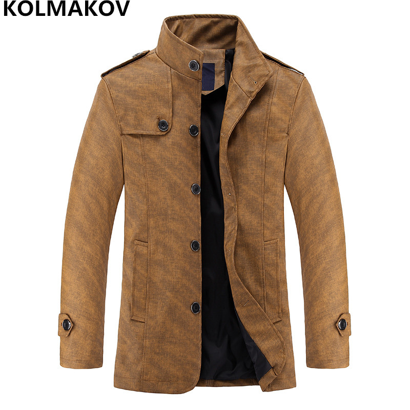 2018 Trench Coats Winter Mens Coat Men's Fashion New Autumn Arrival rOqpntRSwr