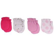 New-Gloves Newborn Scratch-Mittens Soft Cotton Safety Four-Seasons 0-6-Months 100-%