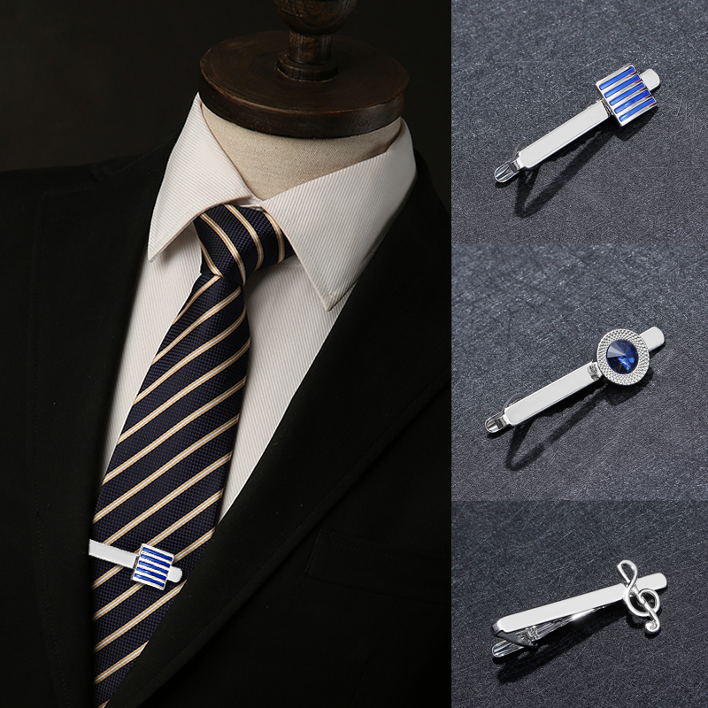 4e208780d386 Men Tie Clips Cufflinks Business Shirt Square Cylinder Men Gifts Classic  Jewelry Unique Wedding Groom High Quality Cuff Links