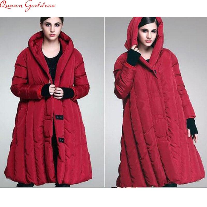 Jaqueta feminina nylon 2017 lâche femmes style décontracté épais doudoune nouveau manteau d'hiver de grande taille