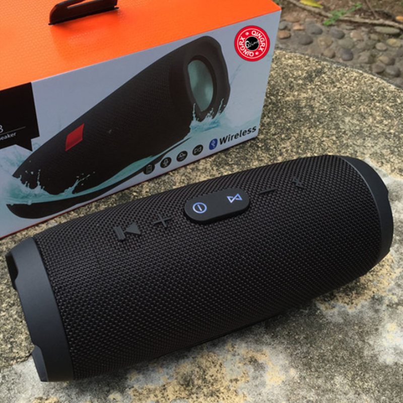 Professional  Portable Waterproof Outdoor HIFI Column Wireless Bluetooth Speaker Subwoofer Sound Box Support FM Radio TF Mp3 bracelet