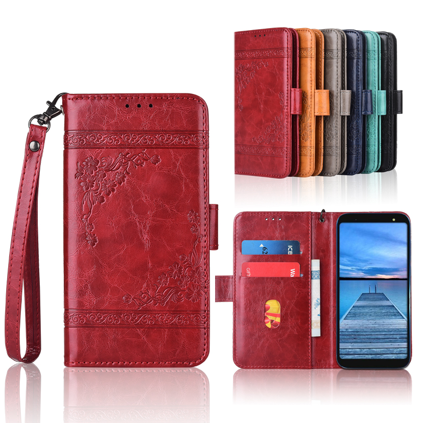 Phone Bags & Cases Newest Wallet Case For Micromax Yu Ace Flip Case With Strap,100% Special Pu Leather Embossing Flower Cover Case By Scientific Process Cellphones & Telecommunications