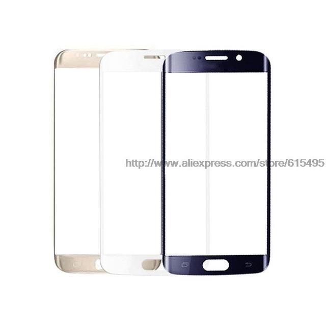 S7 G930 Замена Переднего Экрана Стекло Объектива для Samsung Galaxy S7 Edge G935 новый Внешний Лен Стеклянный Экран