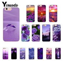 Yinuoda infinity on Purple Coque Shell Phone Case for iPhone X XS MAX  6 6s 7 7plus 8 8Plus 5 5S SE XR 10