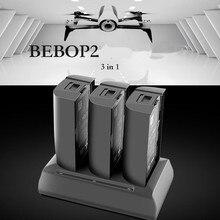 3in1 perroquet Bebop 2 Drone FPV moyeu de charge de batterie 12.6 V 2A équilibrage rapide remplissage dischargeur Portable Otdoor chargeur pour perroquet