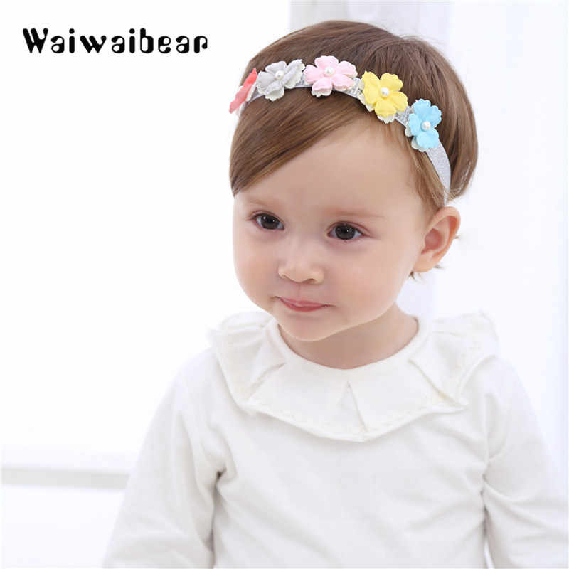 Detail Feedback Questions About Baby Headband Flowers Girls Hair