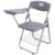 2 pçs/lote Simples Fortalecer Treinamento Escritório Cadeira Dobrável Portátil Cadeira Com Placa de Escrita Cadeira Pessoal Cadeira de Reunião Da Conferência