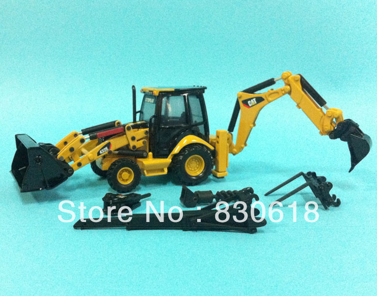 1:50 Norscot Caterpillar CAT 432E Side Shift Backhoe/Loader Die Cast model 55149 Construction vehicles toy norscot 1 50 siecast model caterpillar cat ap655d asphalt paver 55227 construction vehicles toy