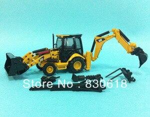 1:50 Norscot Caterpillar CAT 432E Side Shift Backhoe/Loader Die Cast model 55149 Construction vehicles toy(China)
