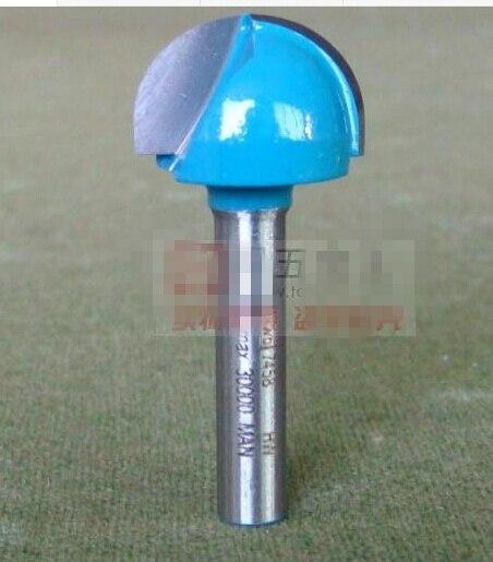 1 Stück 6*19,05mm Bucht Box Runde Bottom Bit Schaftfräser Holzbearbeitung Gravur Cutter Werkzeuge Cnc Fräser