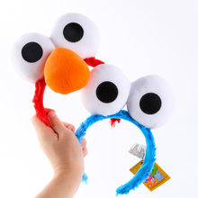 Kawaii Sesame Street Big Eyes Party's Hairbands Hair Hoop Plush Hat For Kids Boy Girls Holiday Birthday Party(China)