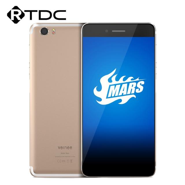 "In Stock Original Vernee Mars 5.5""FHD Android 6.0 MT6755 Octa Core 1920*1080 4G RAM 32G ROM 13.0MP Fingerprint Mobile Phone"