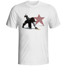 Winter Soldier T-shirt Bucky  Barnes Super Hero Hip Hop Design Print T Shirt Rock Novelty Punk Women Men Top