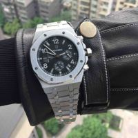 Mens Watches Top Brand Luxury Sports Watch Male Military Quartz watch Chronograph Analog Date Clock steel Wristwatch