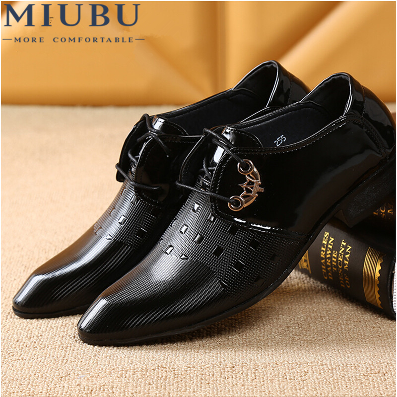 8777a5f6f1b Detail Feedback Questions about MIUBU Office Men Dress Shoes Italian Wedding  Man Casual Shoes Oxfords Suit Shoes Man Flats Leather Shoes Zapatos Hombre  on ...