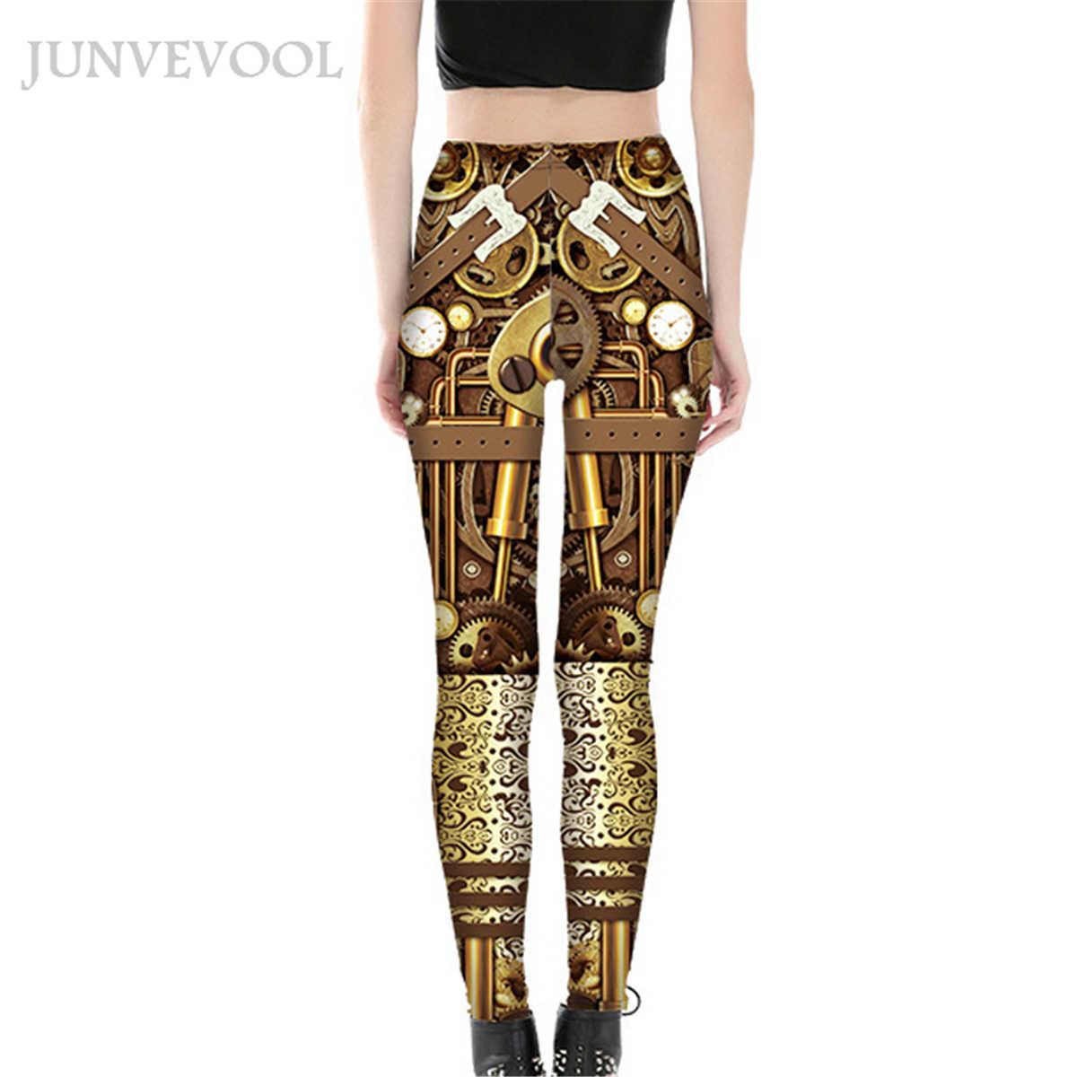 Робот элегантные леггинсы красочные 3D печать женские облегающие тонкие брюки высокие эластичные обтягивающие женские платье-карандаш для вечеринки Капри Лидер продаж