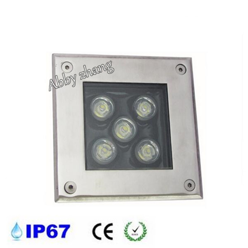 Led Lamps Amiable 10pcs/lot 5*2w Square Lights Stairs Garden Outdoor Buried Floor Waterproof 10w Led Recessed Underground Ce Lamp Ac85-265v/dc12v Clients First Lights & Lighting