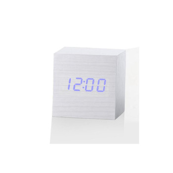Wood Styled Digital LED Alarm Clock