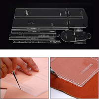 Acrylic Template Pattern For Shoulder Bag Leather Caft Pattern DIY Making Supplies TB Sale