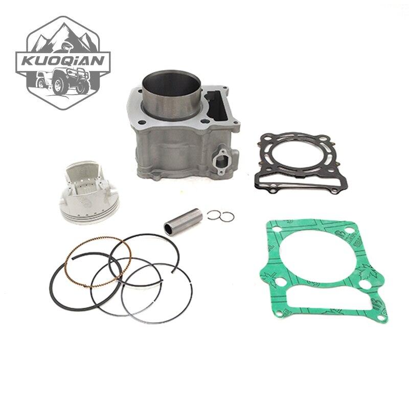 KUOQIAN HISUN pièces HS500cc HS 500 cylindre Assy Kit de Piston anneaux pour Hisun 500cc HS500 ATV UTV pièces de haute qualité