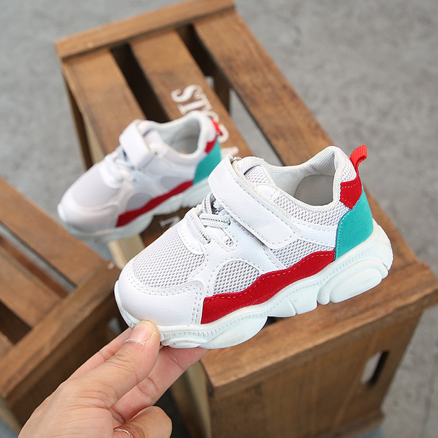 2019 Spring Baby Girls Boys Casual Shoes Infant Toddler Shoes Soft Bottom Non-slip Comfortable Shoes Kids Children Sneakers 2