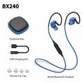 Plextone BX240 Спорт Стерео Bluetooth Наушники Наушники Наушники Водонепроницаемый Беспроводная Гарнитура с Микрофоном Для Android iOS