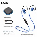 Plextone BX240 Sports Stereo Bluetooth Auriculares Headphones Earphones Waterproof Wireless Headset with Mic For Android iOS