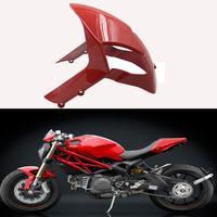 For Ducati Monster 696 795 796 1200 S4R 1100 1100S EVO Motorcycle Front Tire Fender Mudguard Splash Guard Mudflap Gloss Fairing
