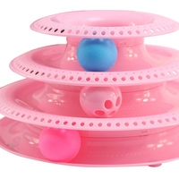 pets-interactive-toys-cats-three-tier-turntable-pet-intellectual-track-tower-funny-cat-toy-plate-3-balls-4-balls