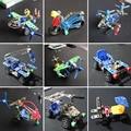 A montagem de aeronaves lutador desmontagem DIY brinquedos de montagem de metal DIY modelo criativo