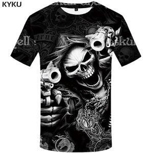 ae04823a7 KYKU Brand T shirt Tshirt Tee t shirts 3d t-shirt male