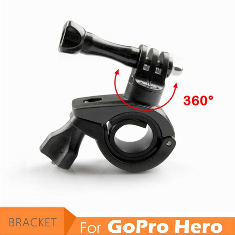 Go Pro Hero Camera Bicycle Mount Bike Motorcycle Bracket Holder Support for GoPro Hero 3+ 6/5/4/3/2 Skeleton Frame Stand Clip mountain bike bicycle mount stand for gopro hero black