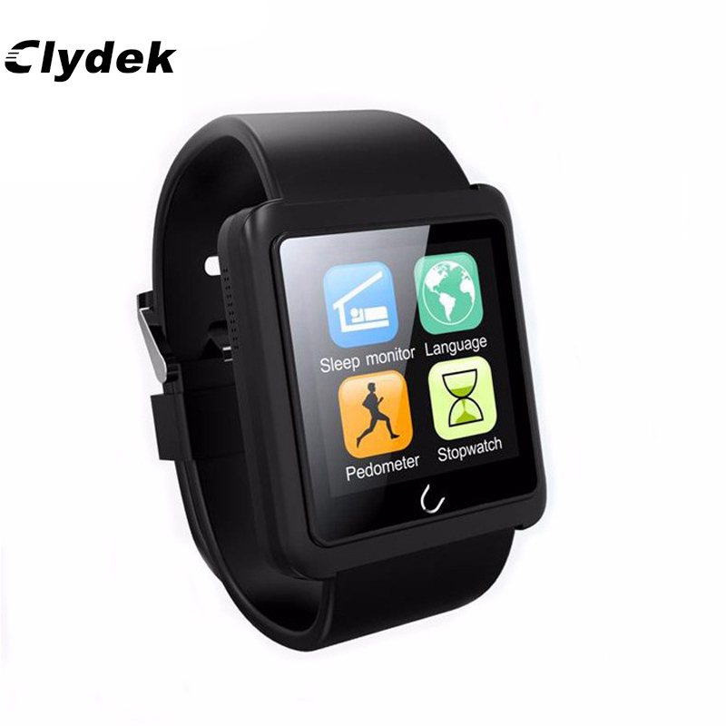 Bluetooth Smart Watch U10L Sports Wristwatch Smartwatch For Samsung HTC Sony IOS Android Smartphone Sync Call SMS Sleep Monitor wireless service call bell system popular in restaurant ce passed 433 92mhz full equipment watch pager 1 watch 7 call button