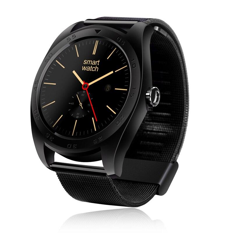 imágenes para Lo nuevo k89 bluetooth smart watch deporte salud electrónica smartwatch para dispositivos portátiles de apple samsung gear soporte de frecuencia cardíaca