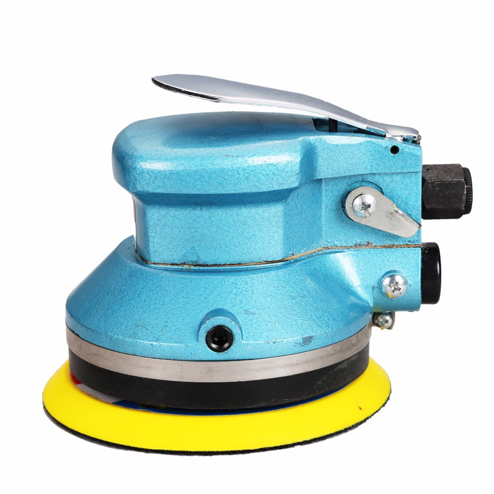 5/6inch ST-301 Air Sanding Machine Pneumatic Tools Pneumatic Sanders Pneumatic Polishing Machine Air Car tools 4 inch disc type pneumatic polishing machine 100mm pneumatic sander sand machine bd 0145