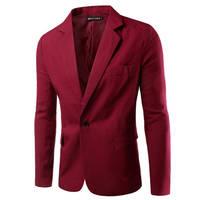 2017 Men Blazers Coats Jackets Casual Slim Fit Blazer Male Suit Jackets Tops Cheap para hombre 0428