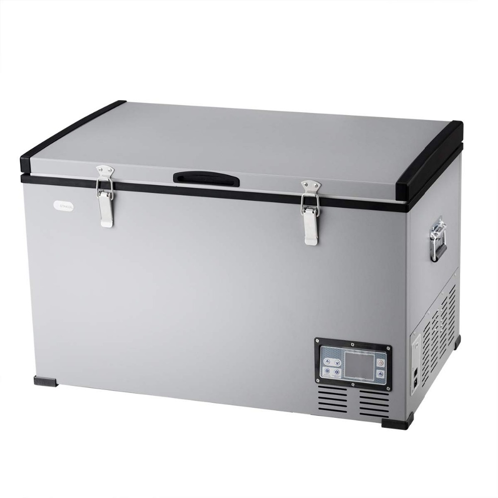 Portable Compressor Refrigerator Freezer 79 Quart Compact Vehicle Car Cooler Mini Fridge For Car And Home Camping Truck Party Stowing Tidying Aliexpress