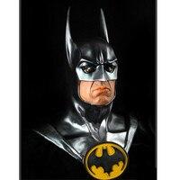 Бэтмен бюст Темный рыцарь 1/1 Мстители: Бесконечность войны супергерой Брюс Уэйн DC Comics головные портреты фигурку игрушки G2354