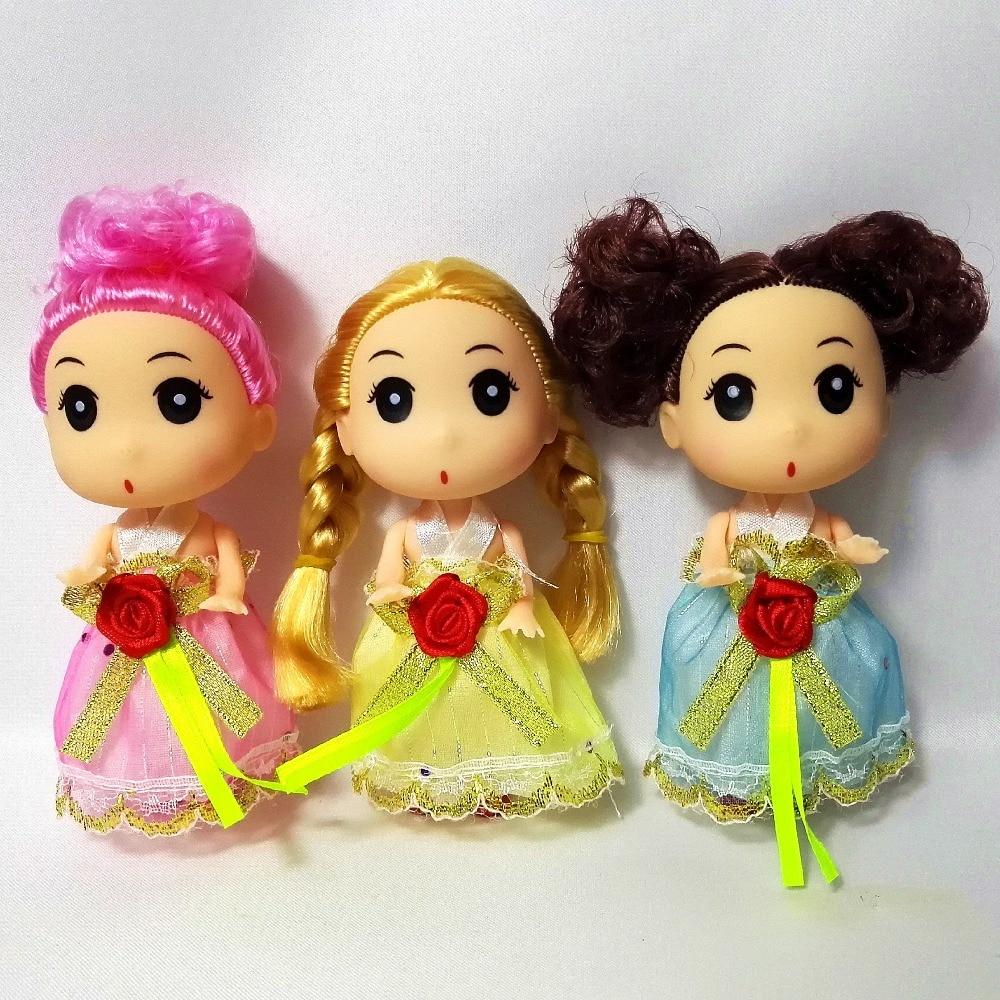 Small Toy Dolls : Pcs original small mini ddgir kelly dolls ddung for